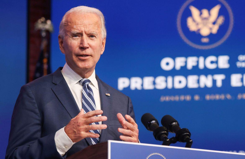 Joe Biden was on the phone with Emmanuel Macron.  Climate change topics, Coronavirus