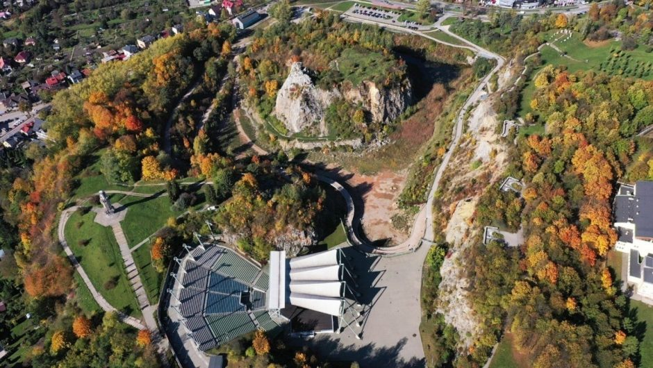 Kadzielnia and Wietrzna in Kielce is the best developed space in Poland.  Geopark with the Grand Prix.  look at the pictures