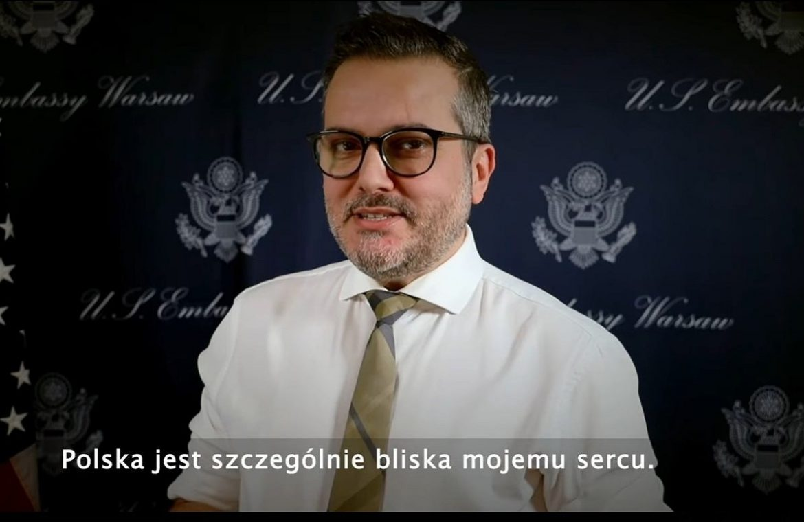 Pecs Aliou will be the interim US ambassador to Poland.  To replace Georgette Mossbacher |  Policy