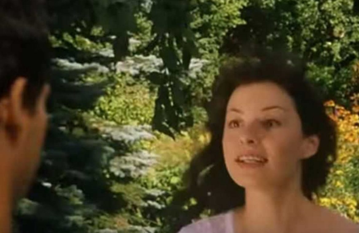 """She played the role of Marusia in the cult movie """"U Pana Boga za Partem"""".  Today she is 48 years old"""