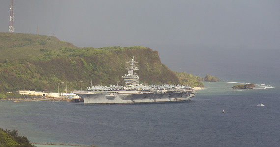 Taiwan.  China.  The United States sends an aircraft carrier to the South China Sea