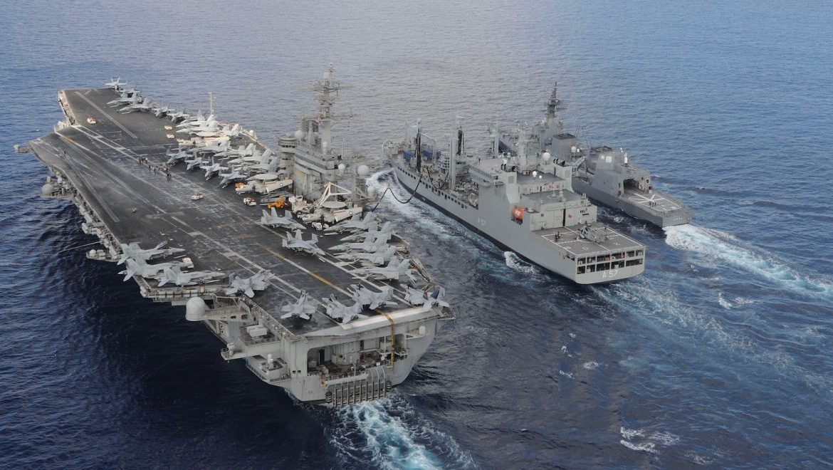 Taiwan: Record number of airspace violations.  American ships ships