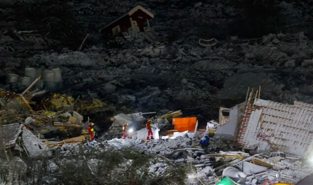 """They found the seventh body in a landslide.  """"We don't know if we are walking on Earth."""""""