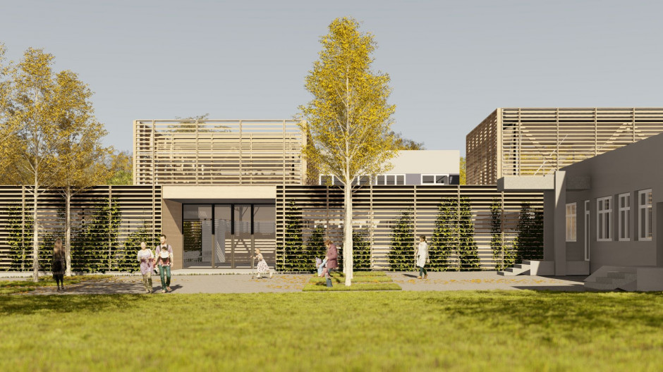 Toprojekt studio designed a new school in Gori