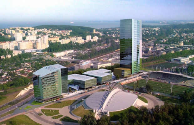 Originally, an office complex with a 120-meter-high tower was to be constructed on this site.  Ultimately, Nova Investment withdrew from this project and sold the land.
