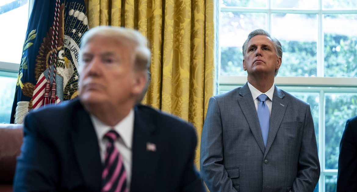 Trump, McCarthy set up meeting ahead of impeachment