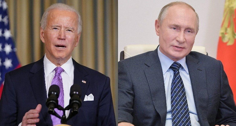 United States - Russia.  Joe Biden spoke to Vladimir Putin