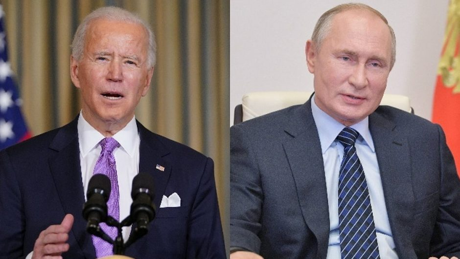 United States - Russia.  Joe Biden spoke to Vladimir Putin