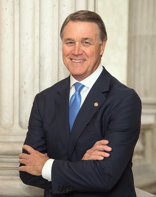 Official photo of Senator Purdue.  He is currently in quarantine and does not personally participate in the campaign