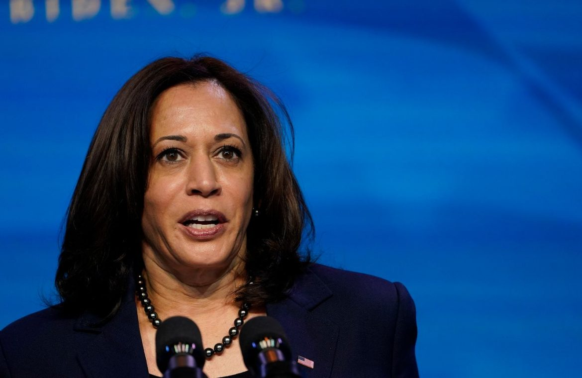 United States of America.  Informal: Mike Pence called Kamala Harris.  He congratulated and provided support  world News