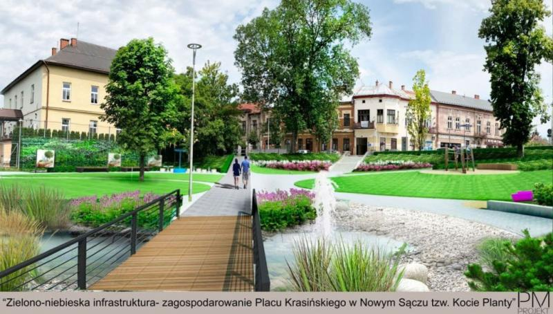 """Nowy Sącz is broadcasting this pass.  What does it have to do with the renewal of """"cat plants""""?  