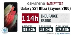 Snapdragon 888 vs Exynos 2100 in Samsung Galaxy S21 Ultra - Working / Photo Time comparison by GSMArena