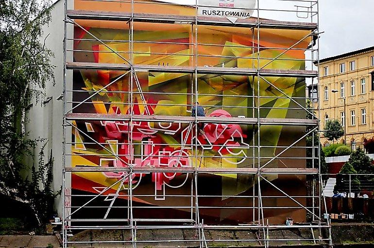 Wraz z dawnym APK do przeszłości odszedł mural [ARCHIWUM]