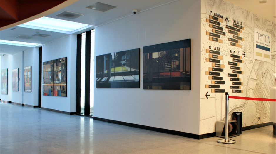 Artworks in Tri-City office building spaces