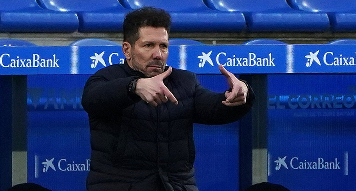 Atletico also face a loss in the Champions League
