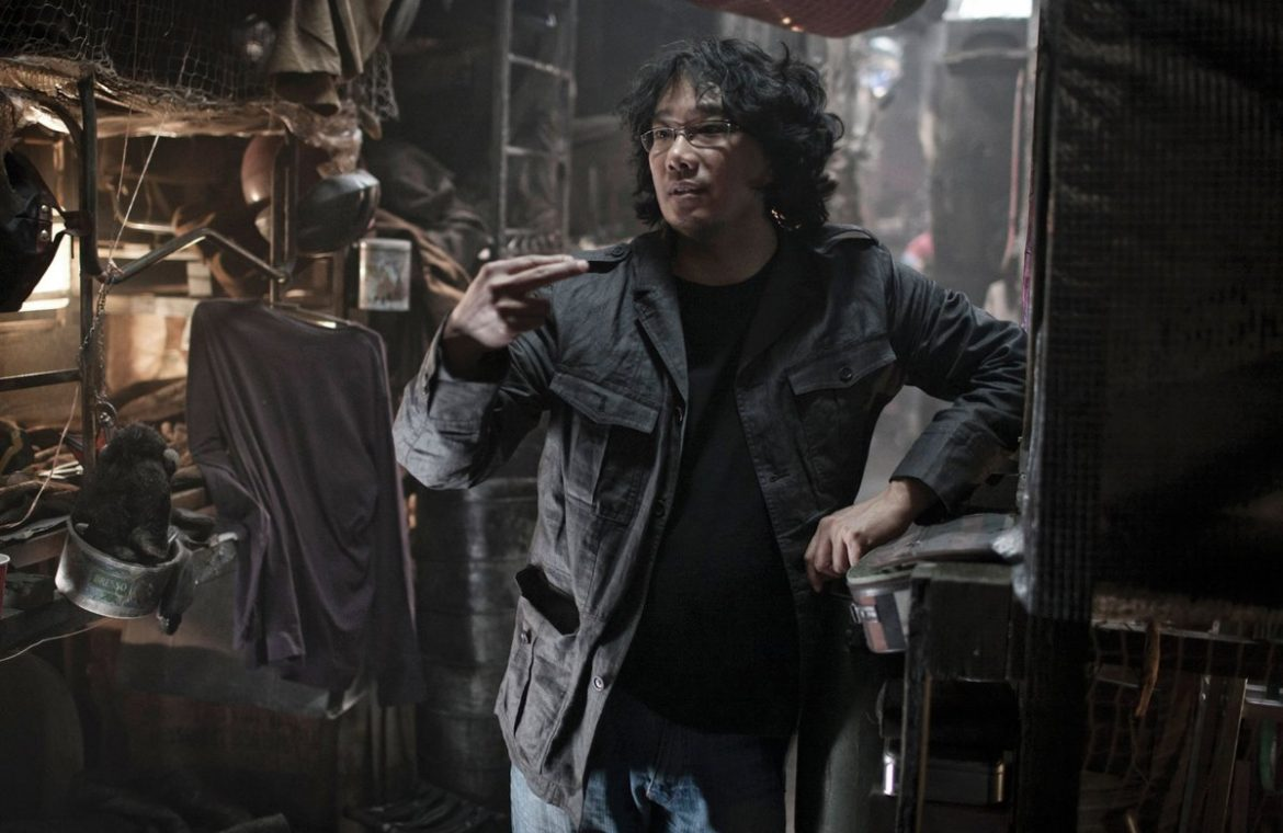 Bong Joon-ho has finished writing the script for his new movie