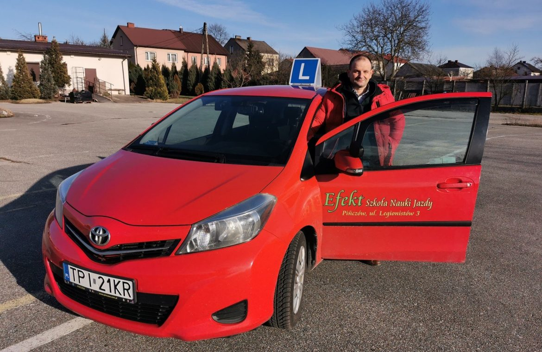 Car Champions 2020. Przemysław Fatyga - 2nd place among driving instructors in Świętokrzyskie