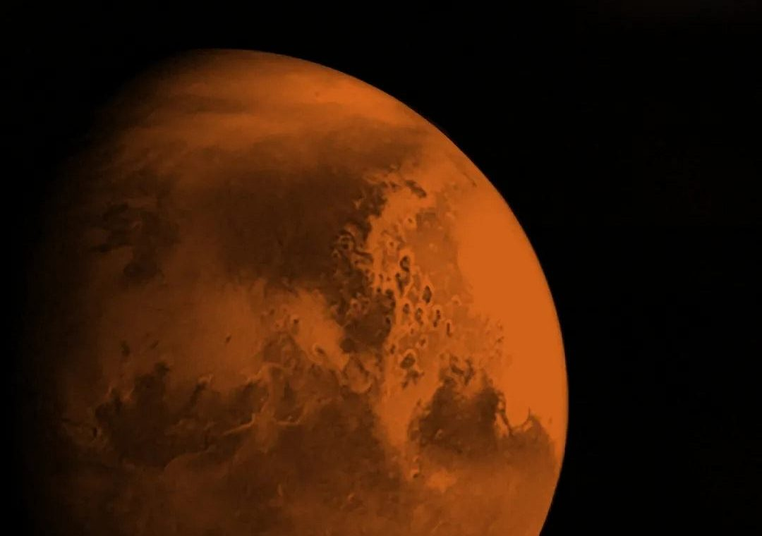 China is approaching Mars.  The Tianwen-1 spacecraft provided the first images of the red planet