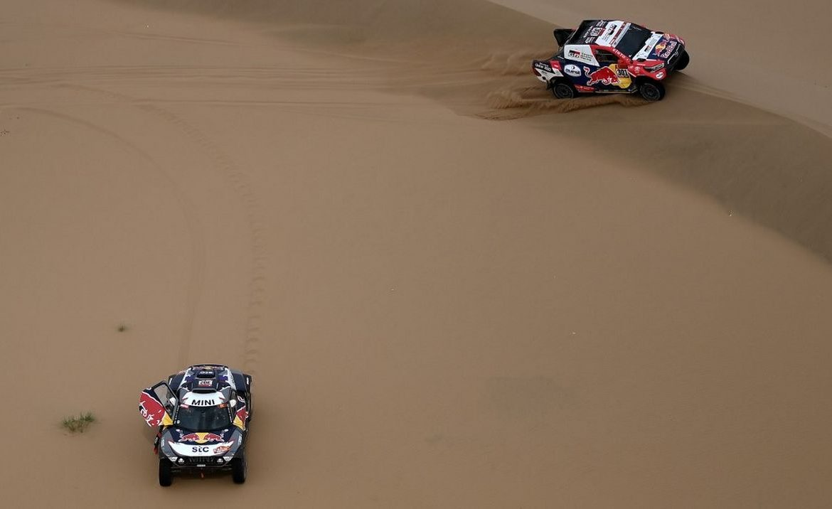 Dakar Rally.  Stefan Peterhansel strives for victory - motorsport