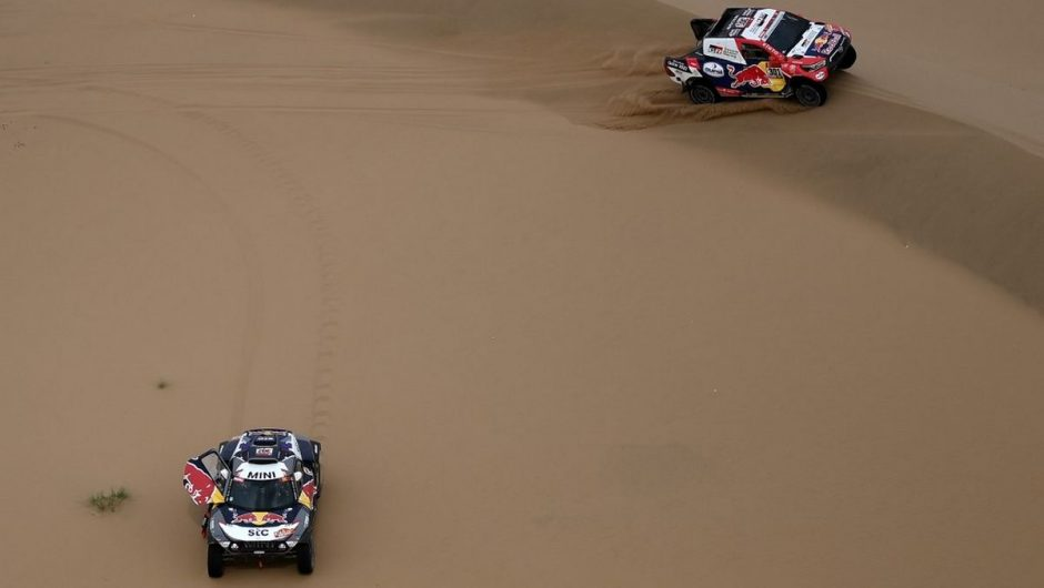 Dakar Rally.  Stefan Peterhansel strives for victory - motorsport