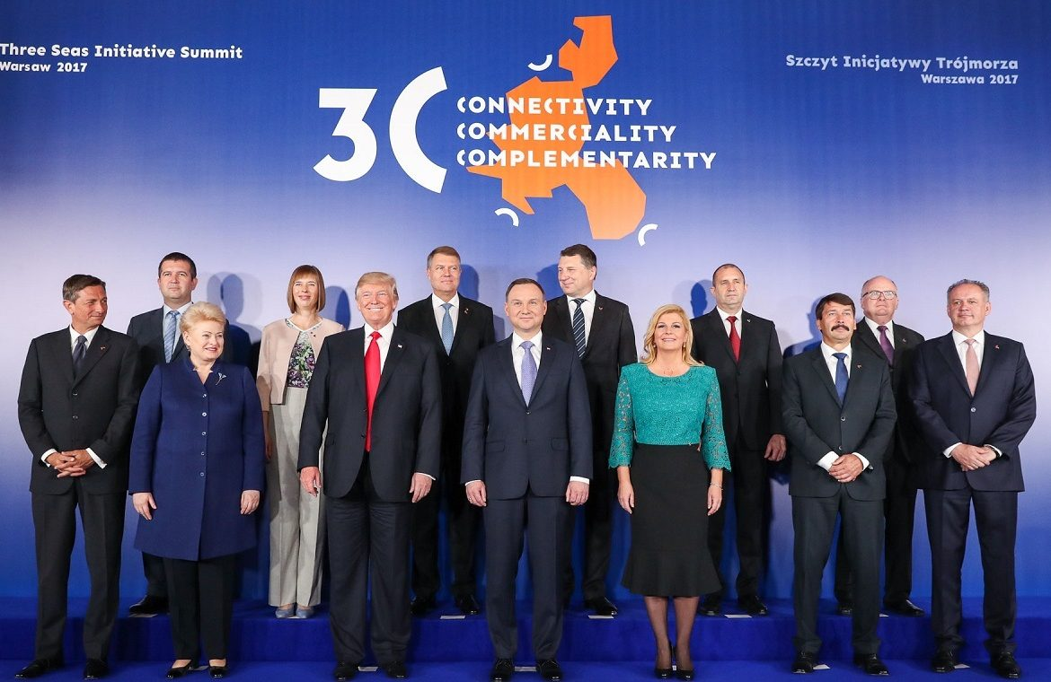 It shows the strategic role of the Three Seas in transatlantic relations