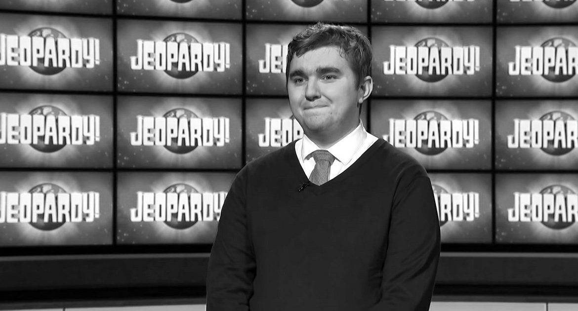 """Matt Bryden Smith.  Participant in """"Celebrity Jeopardy!""""  He was 24 years old"""