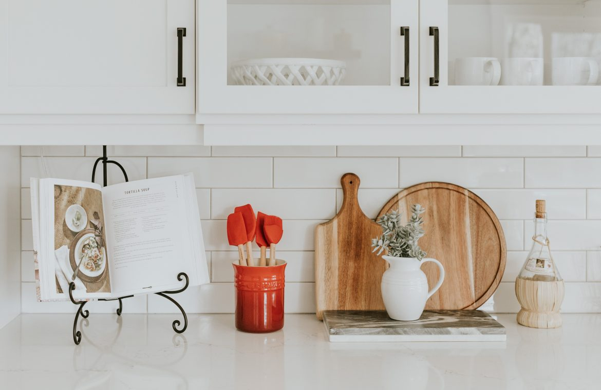 Organize space in the kitchen.  Chef's instructions