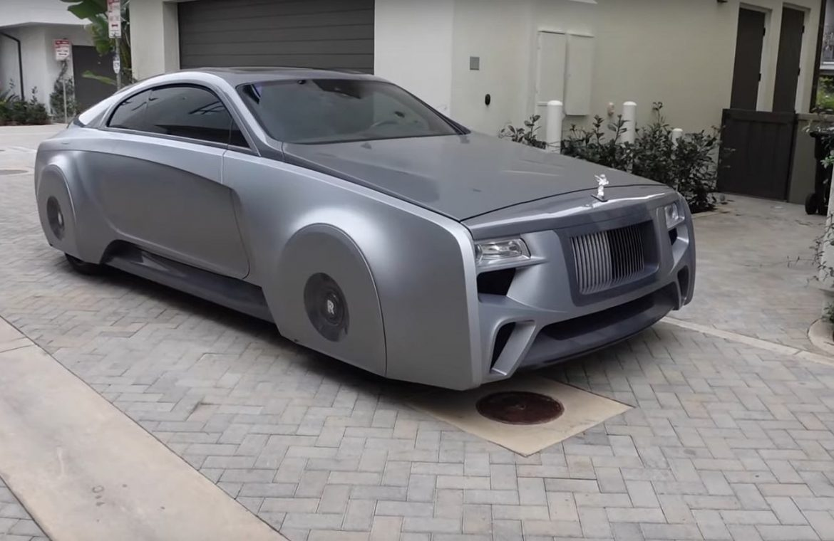 Rolls-Royce Justin Bieber is street registered.  It was directed by the crew from the popular MTV show
