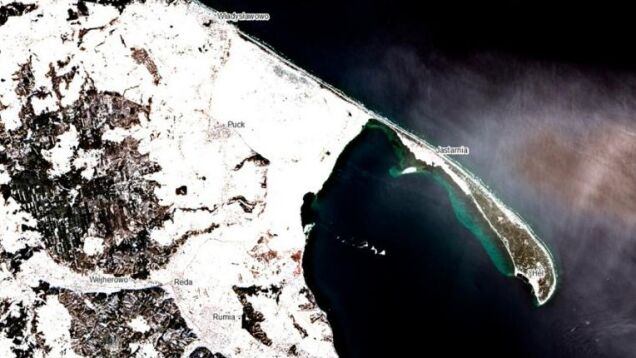 See a map of Baltic ice