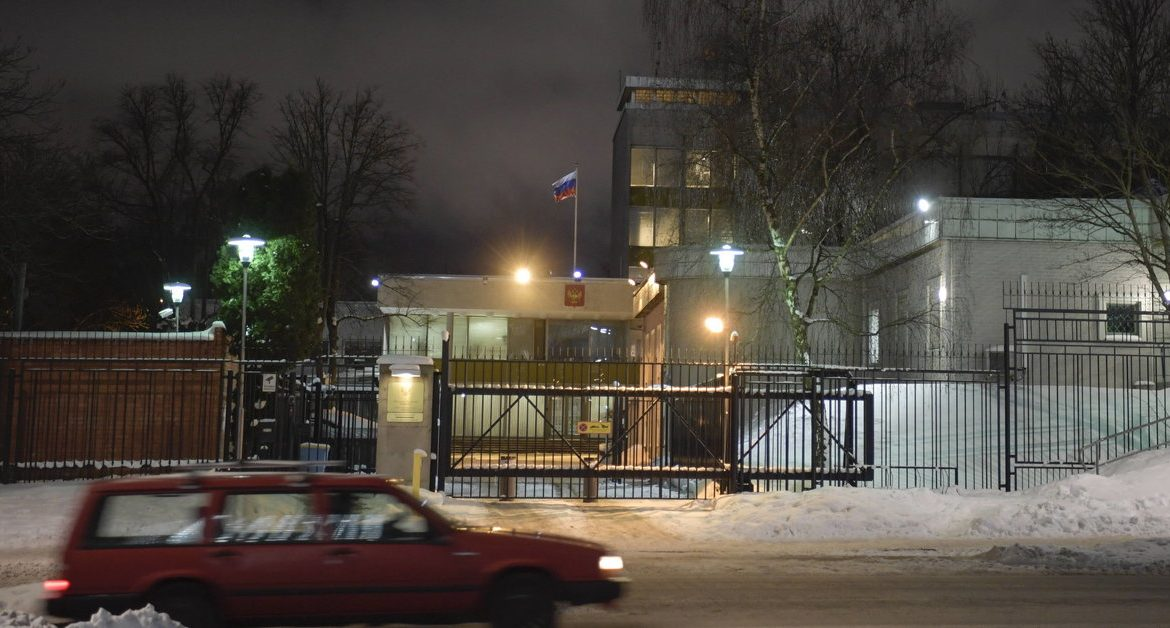 Sweden: new information about the expulsion of a Russian diplomat.  He was supposed to be a spy