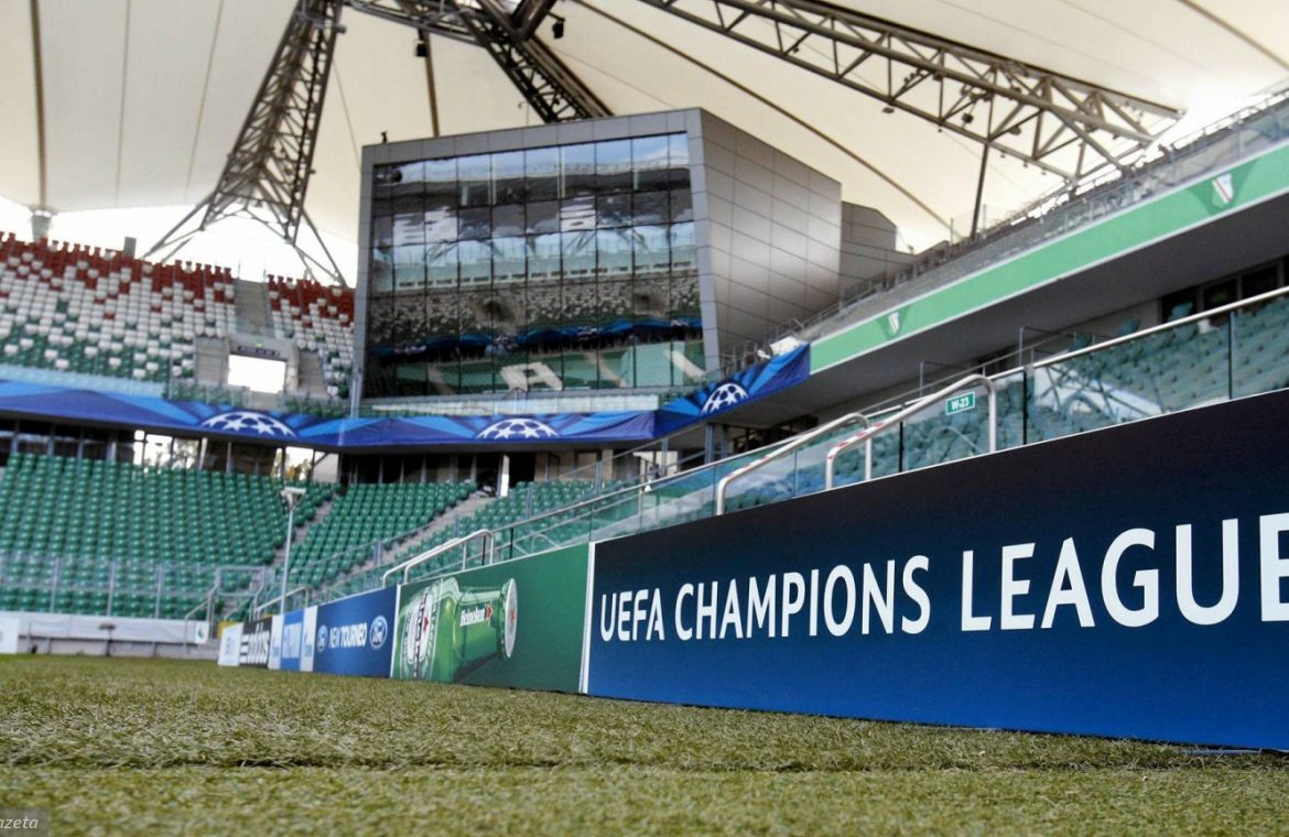 """The Champions League may return to the Legia stadium.  """"The topic will come to us this week,"""" said Becca Balla"""