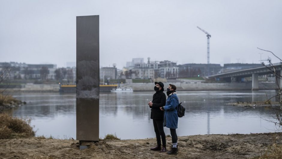 The Mystery Metal Monolith appears, this time in Poland