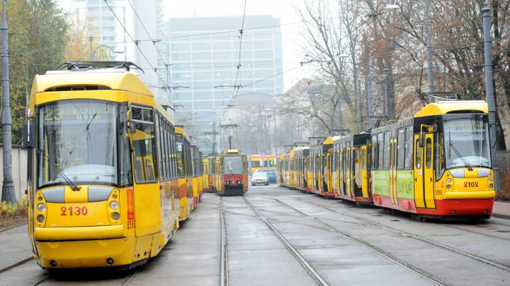 The tram communicates with light  Science in Poland