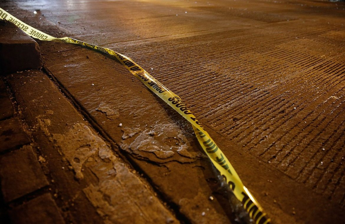 United States of America.  14-year-old run over by a car.  The woman was shot behind the wheel