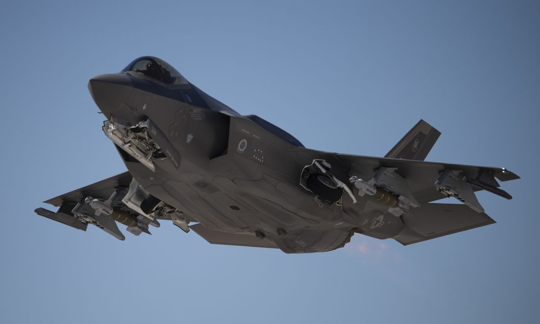 Viking proportions or a cult movie?  The name of the first European F-35 squadron was chosen