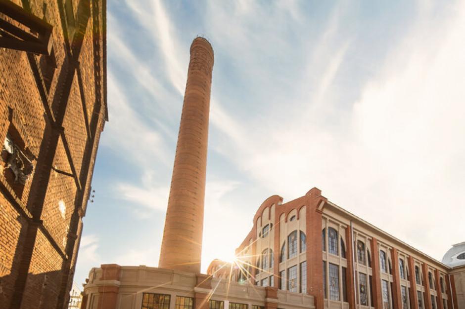The facade of the historic Scheibler power plant has restored its former splendor
