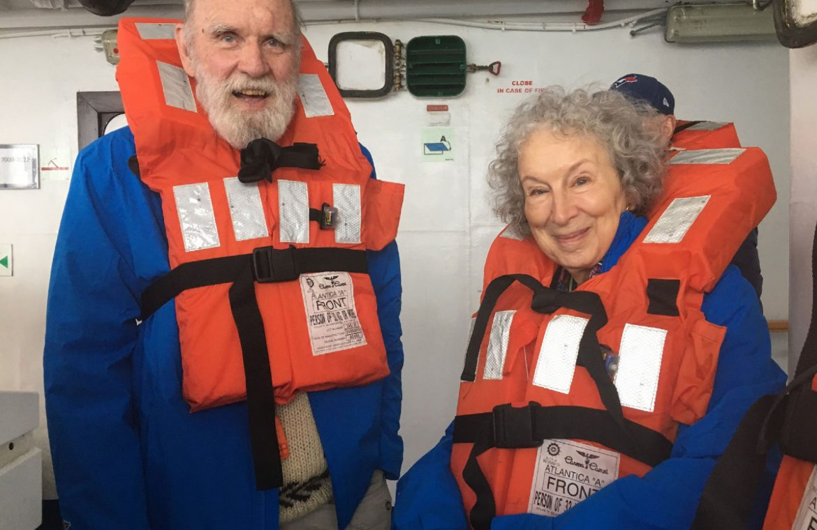 Margaret Atwood's word is strength