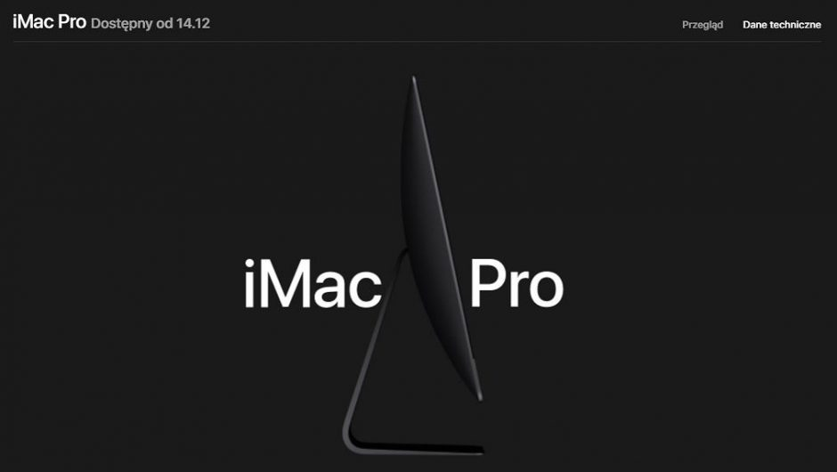 iMac Pro disappears from Apple's display.  The company is no longer producing a powerful computer