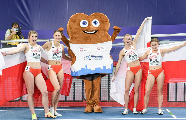 Ten medals for Polish athletes in the European Indoor Championships at Toru Tor - RadioMaryja.pl