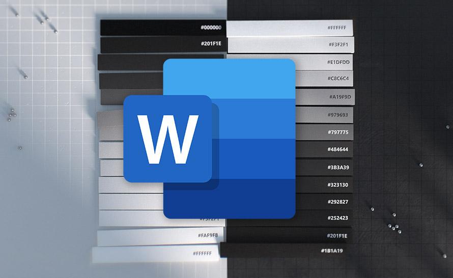 Ciemny motyw dokumentu w Word i autozapis oraz współtworzenie wrażliwych plików w Office Insider