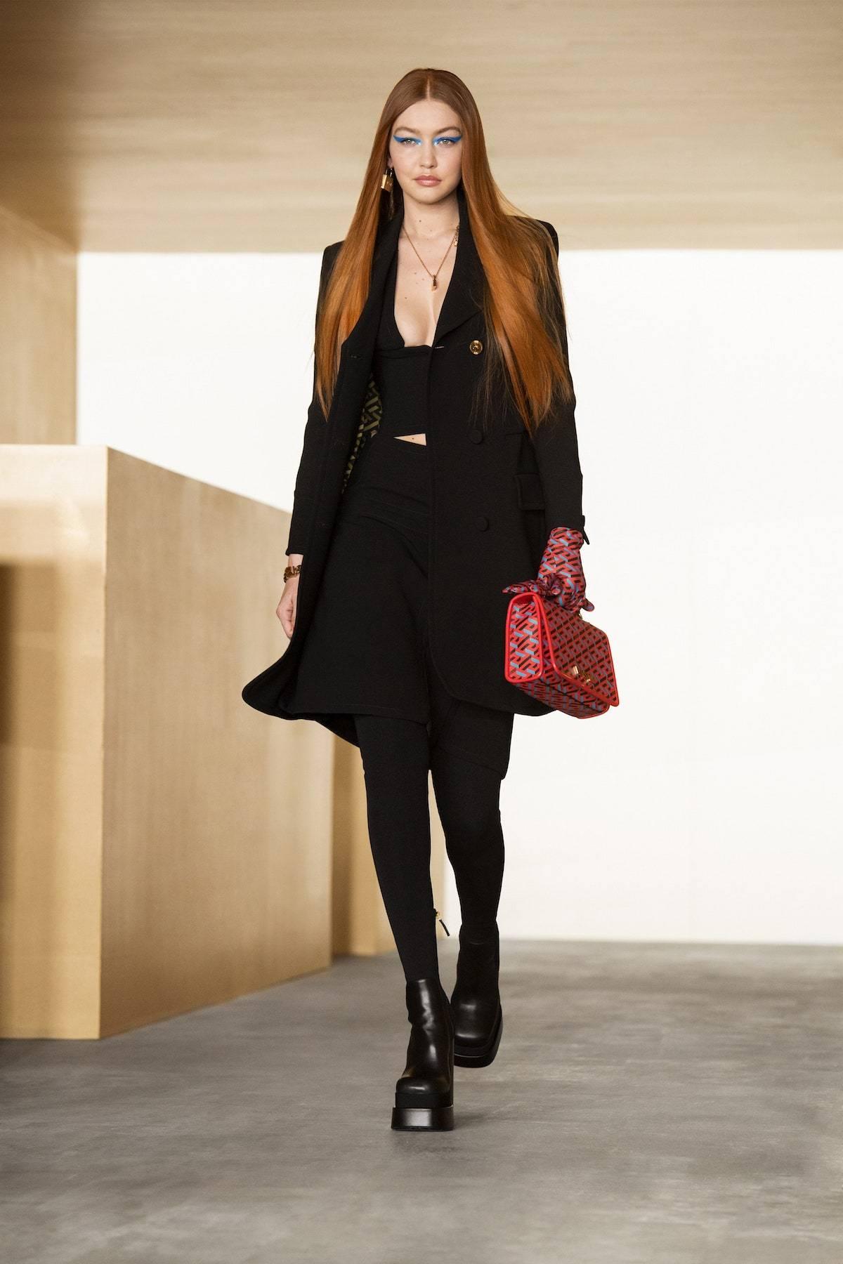 Photo press materials Versace