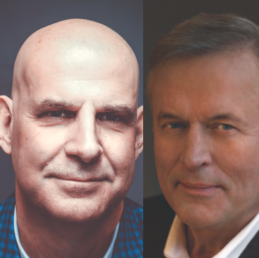 Harlan Cobain and John Grisham speak at the Darren Library / Barrett Library online event