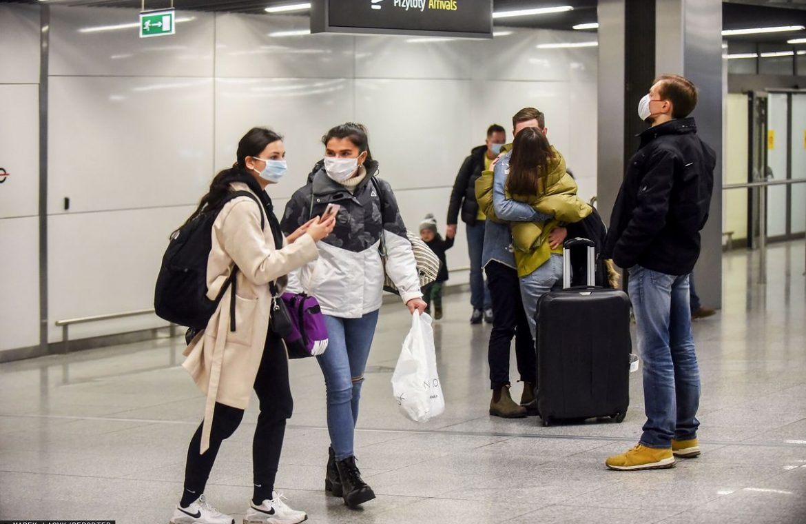 Quarantine after returning to Poland.  This is the new law in practice