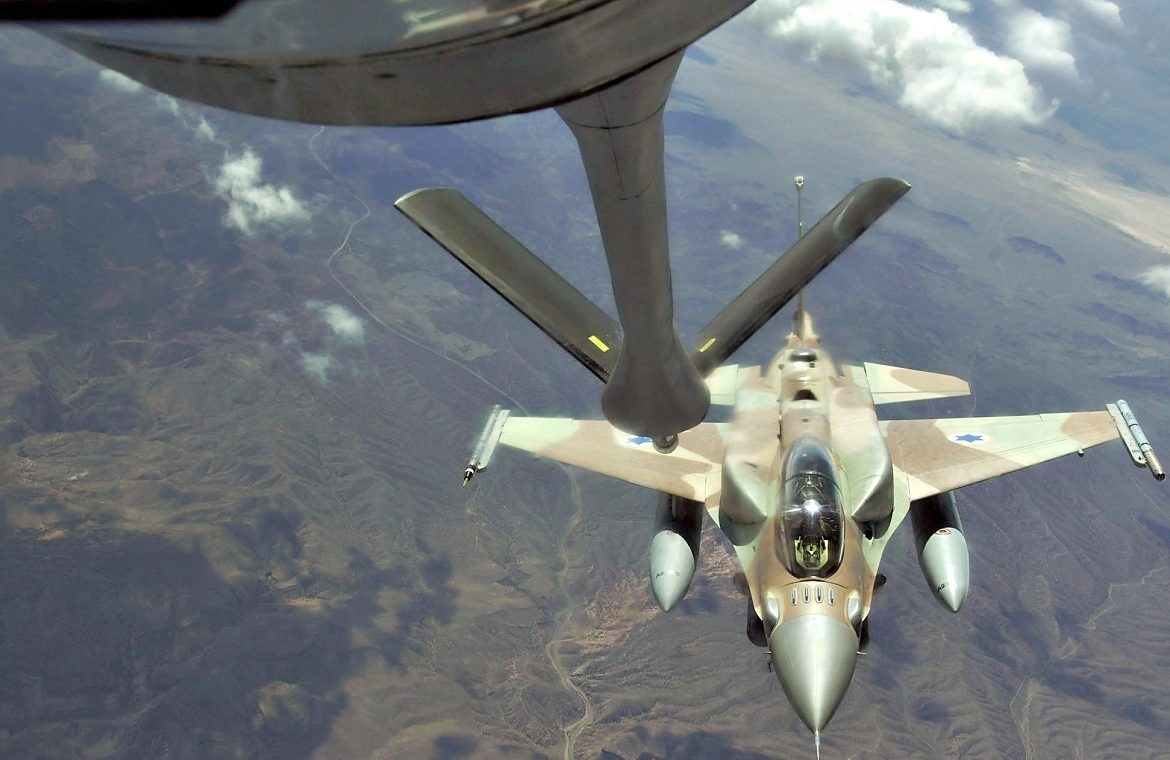 A clear signal from NATO.  An American bomber, escorted by Polish F-16 fighters, flew over Vilnius, Tallinn and Riga