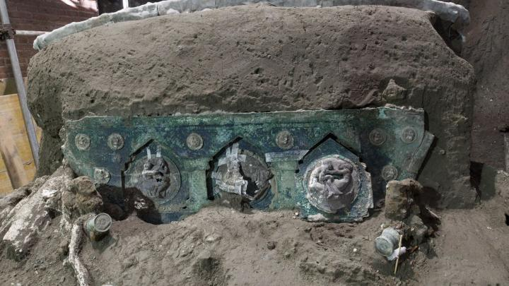 An Unusual Find in Italy / Pompeii: Finding a Show Car