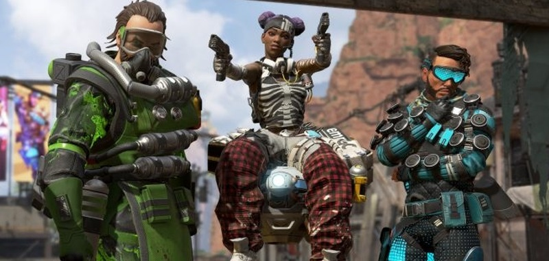 Apex Legends with bad Nintendo Switch reviews.  Bugs, terrible optimization, and low resolution