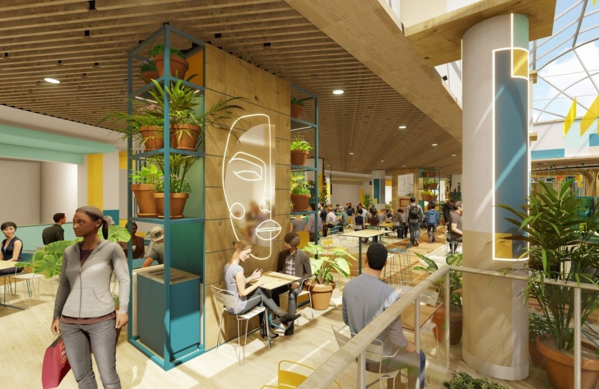 Big changes at Atrium Reduta.  There will be a new food court and family area