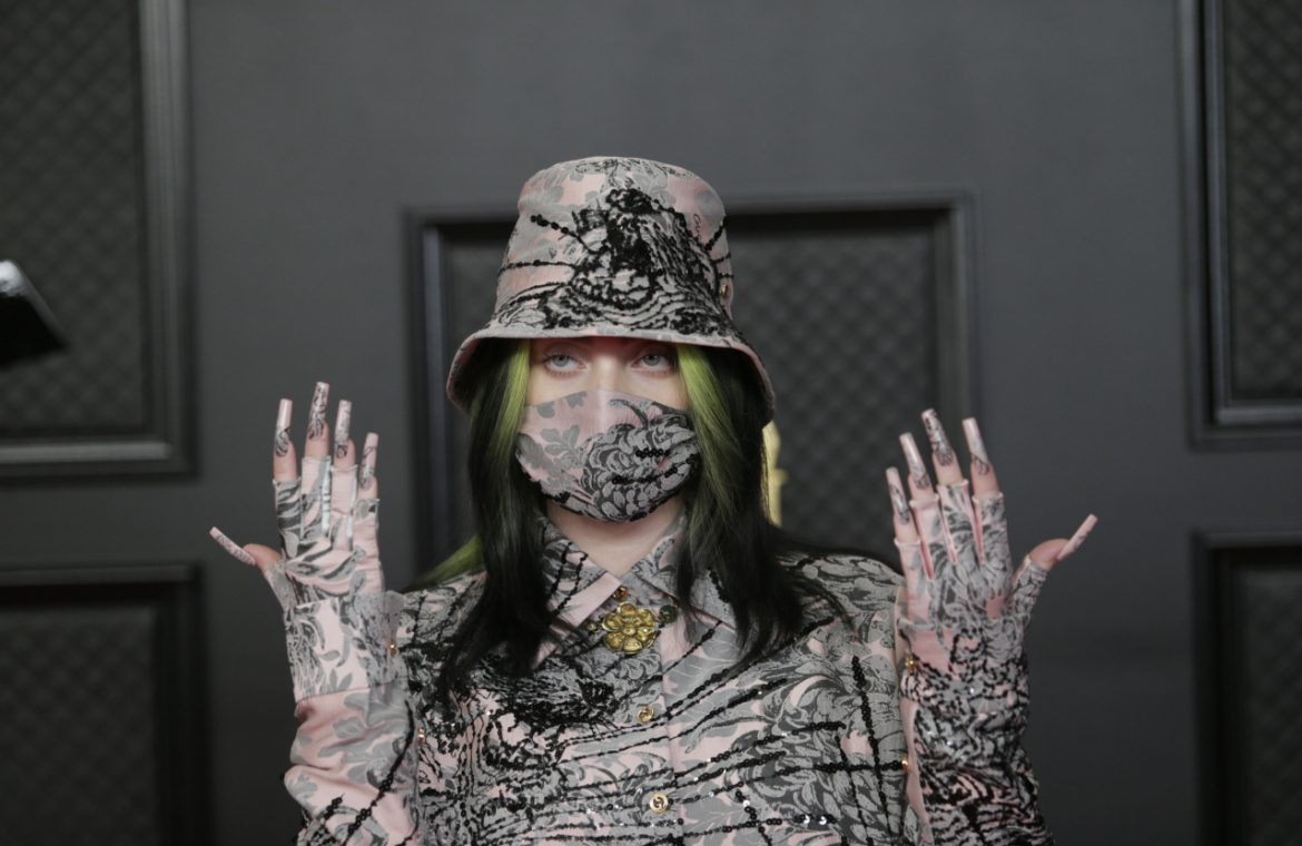 Billie Eilish with two Grammy Awards!  In which categories was the artist honored?