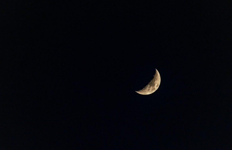 Wiecie, że Księżyc ma ogon?
