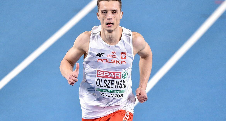 HME Toruń 2021: Men's 60m - Final Results.  Remigiusz Olszewski
